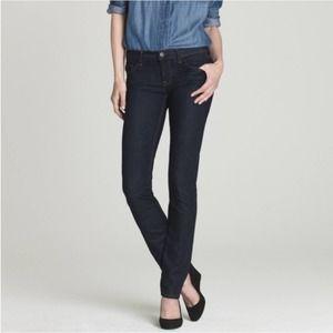 J. Crew Matchstick straight leg low rise jeans -28